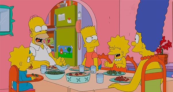 © Facebook The Simpsons