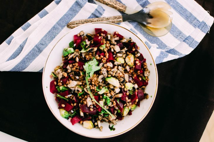 Rote Bete Tabouleh