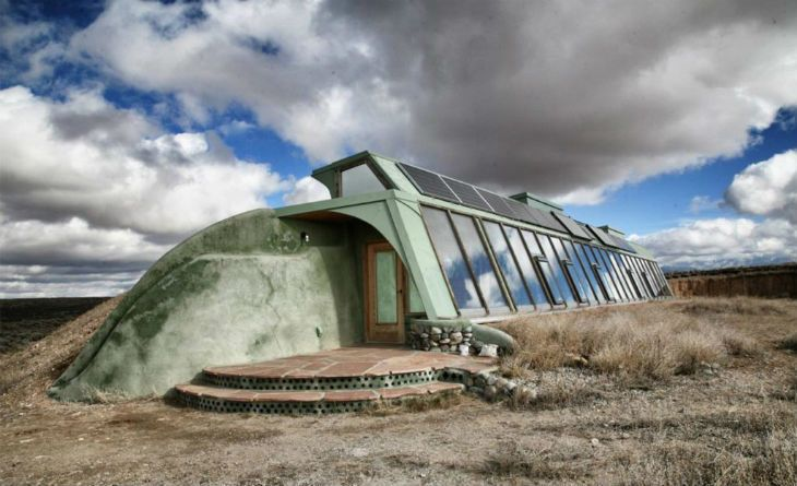 Earthship in den USA