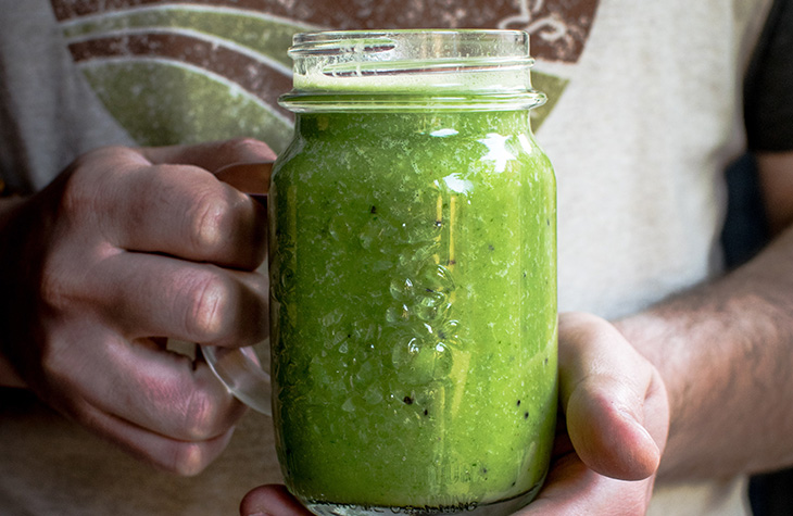 Grüner Smoothie to go