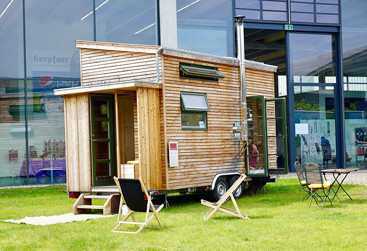 Frankfurt Messe Fuer Tiny Houses