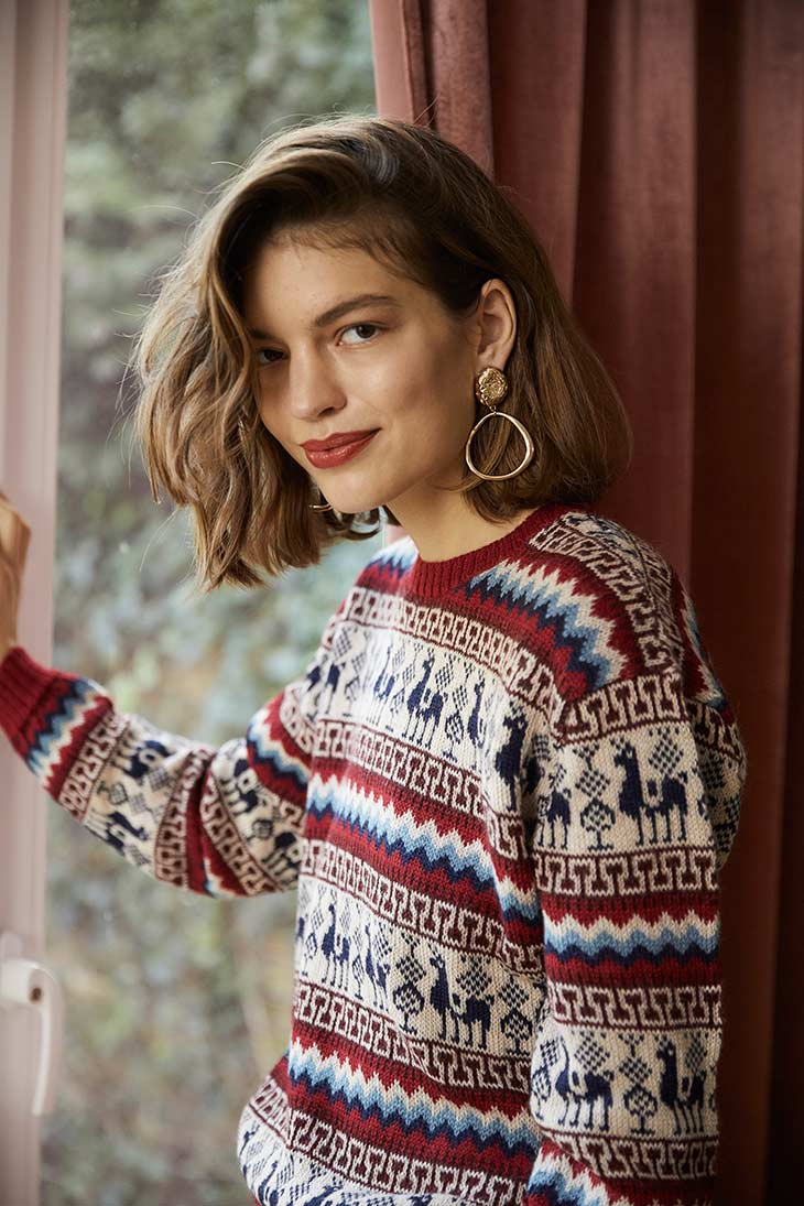 Achiy Pullover In Rot