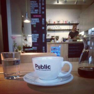 Ein Besuch bei den Public Coffee Roasters.