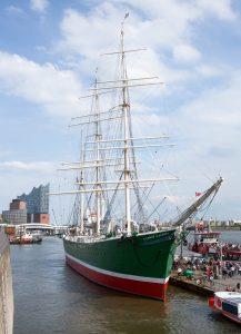 Rickmer Rickmers Museumsschiff in Hamburg