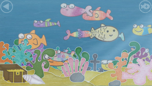 Kinder App Squiggle Fish