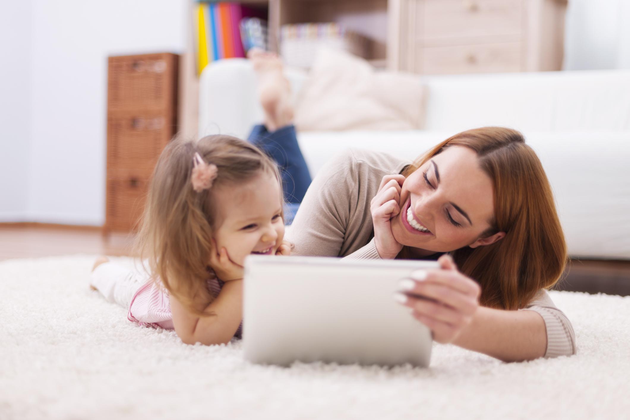 Apps Kinder kindgerecht Mutter Tochter