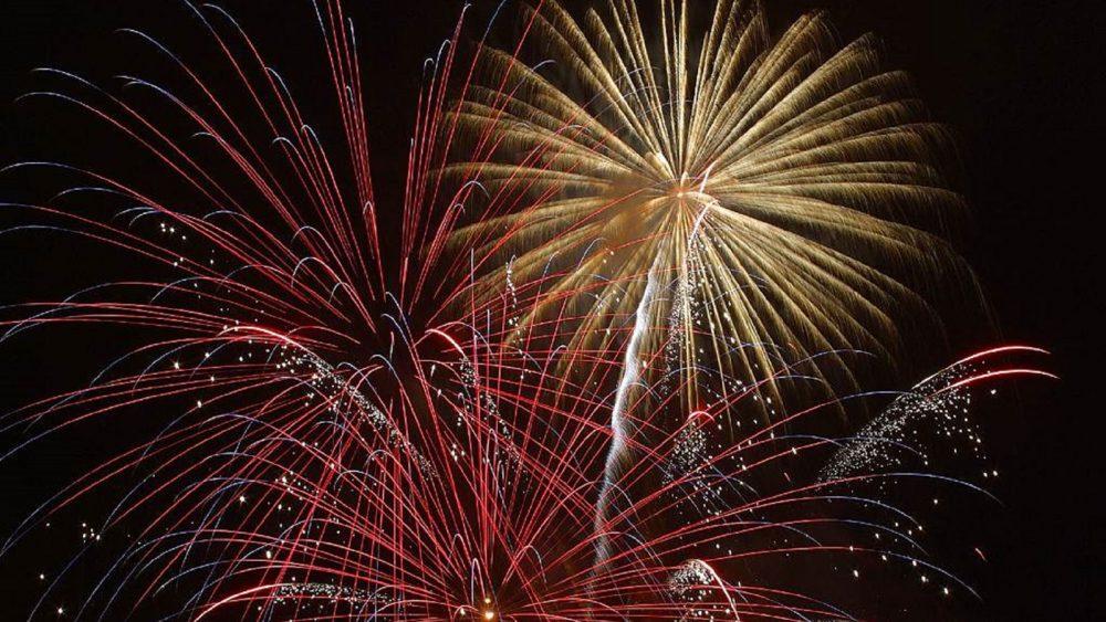 Feuerwerk fotografieren Langzeitbelichtung
