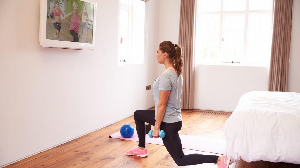 Sport Fitness App New Moove Smart TV