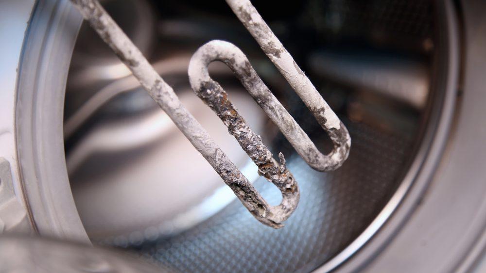 verkalkter Heizstab Waschmaschine entkalken