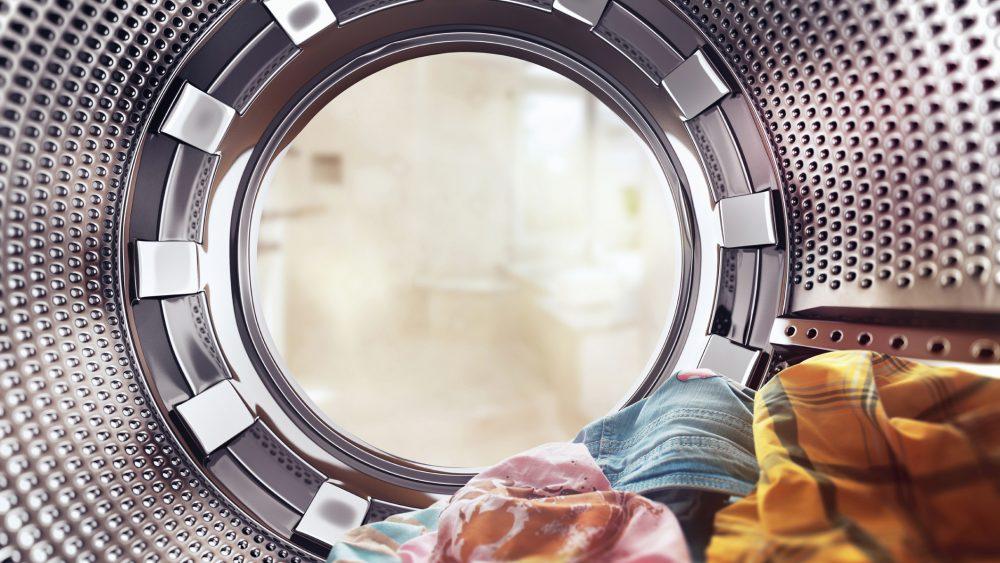 Wäsche Waschmaschinentrommel Transport