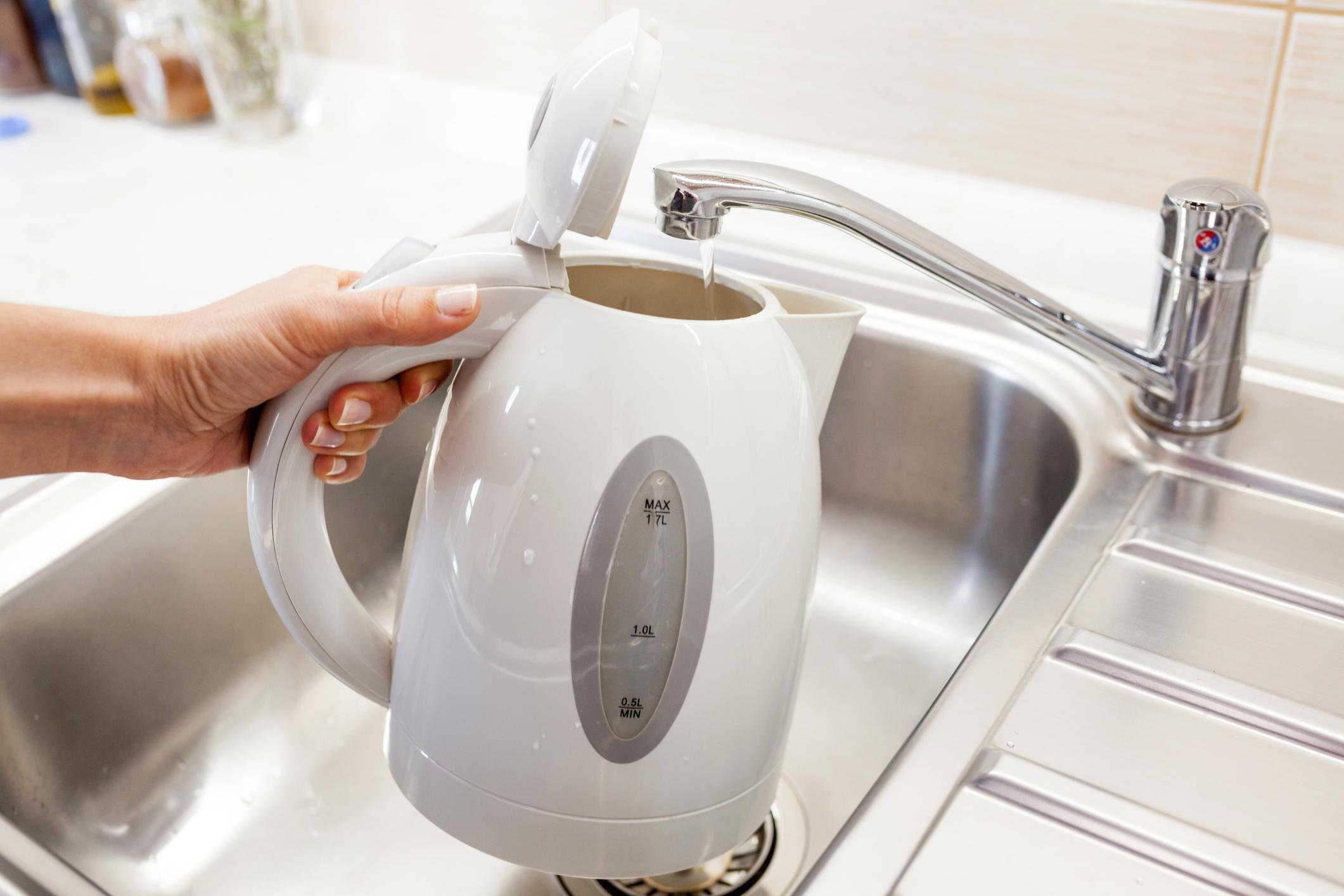 Wasserkocher schnell und gründlich entkalken