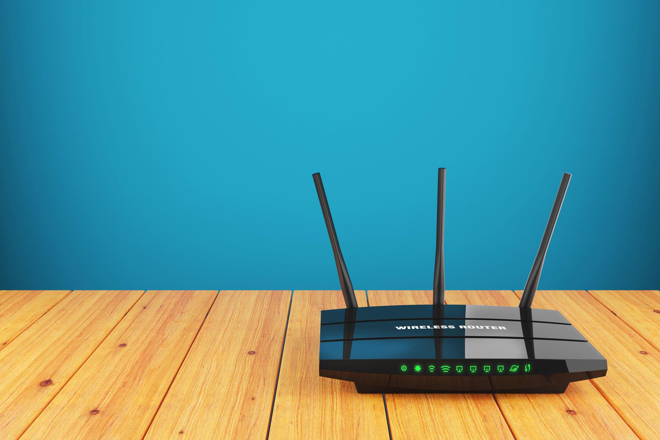 WLAN Router einrichten Anleitung