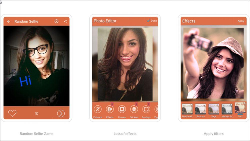 Mit Retro Selfie machen Sie antik wirkende Selfies.