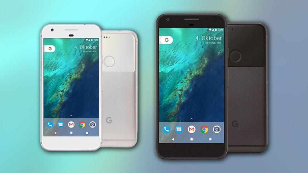 Die beiden neuen Spitzenmodelle von Google: Pixel und Pixel XL sind nicht wasserdicht.