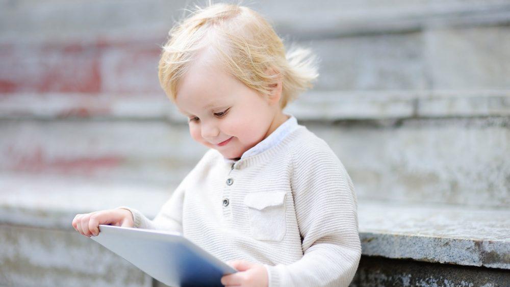 Kindersicherung Android-Tablet Junge