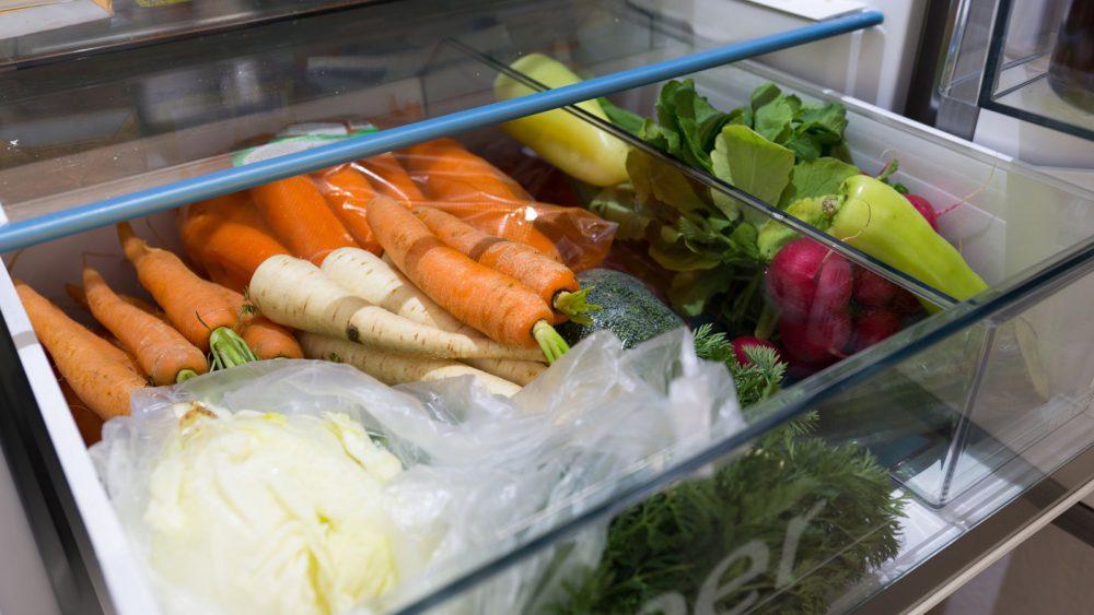 Obst Gemüse Kühlschrank lagern