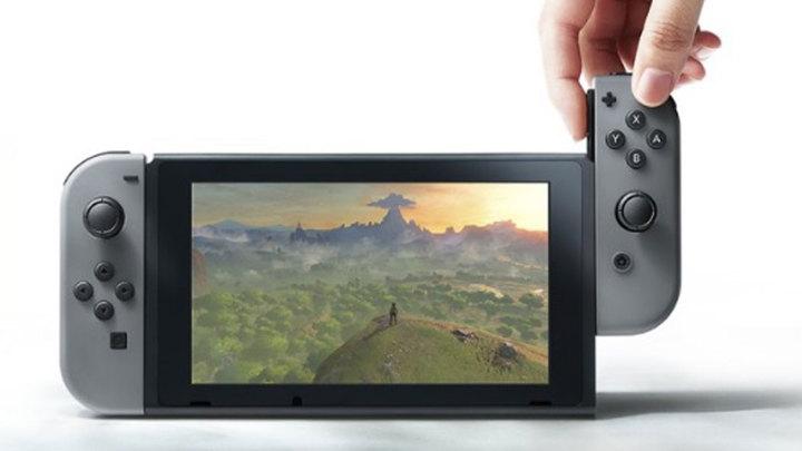 Abnehmbare Controler bei der Nintendo Switch
