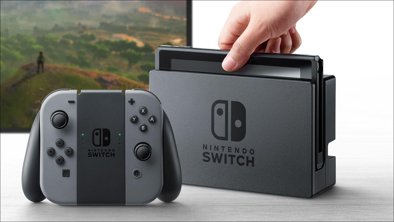 Die Nintendo Switch arbeitet mit NVIDIA-Chips.