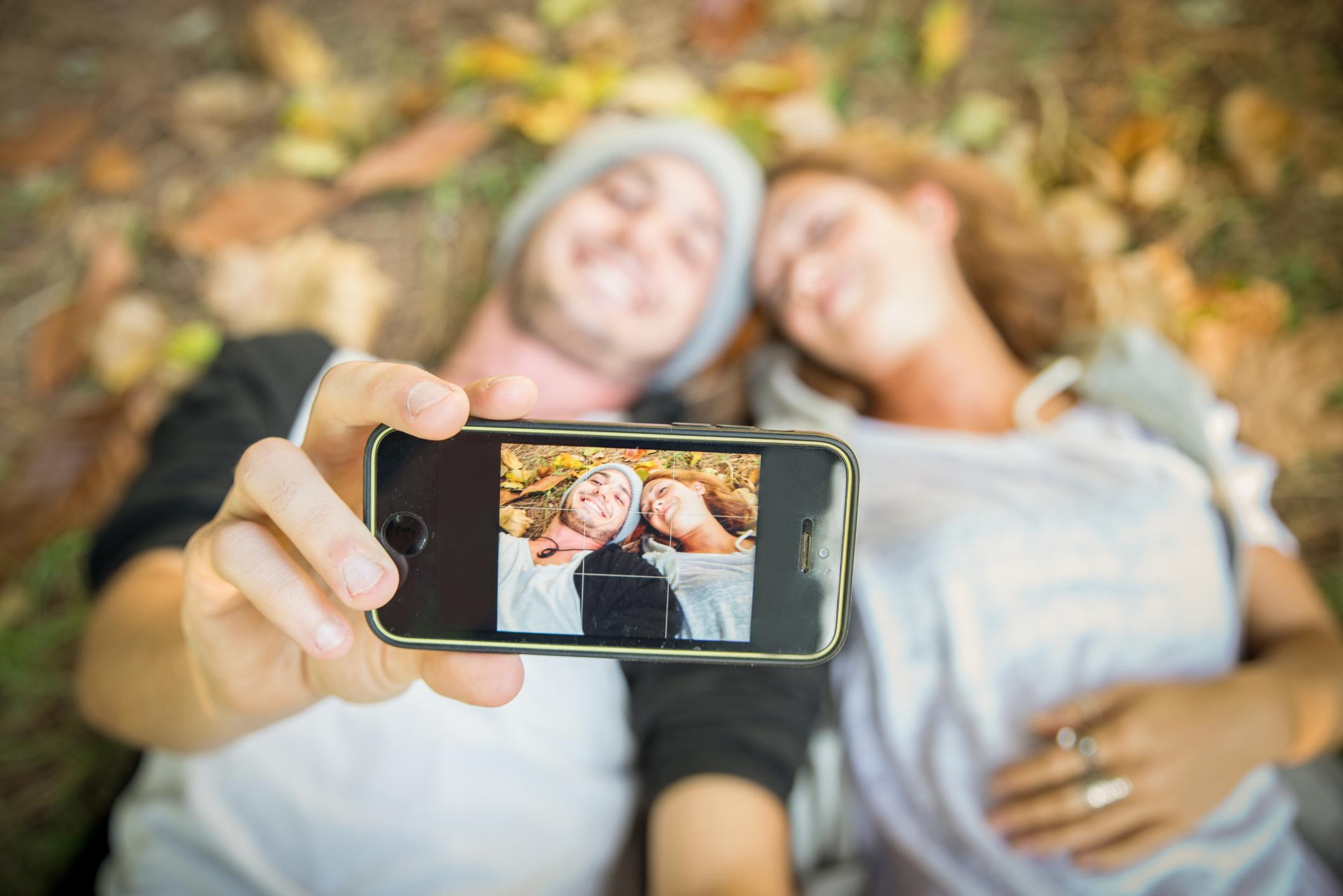 Liebespaar Pärchen Selfie App iPhone