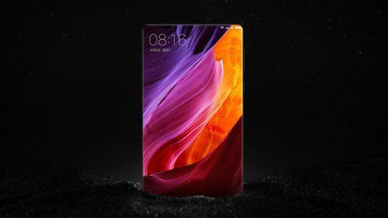 Das neue Smartphone Xiaomi Mi MIX.