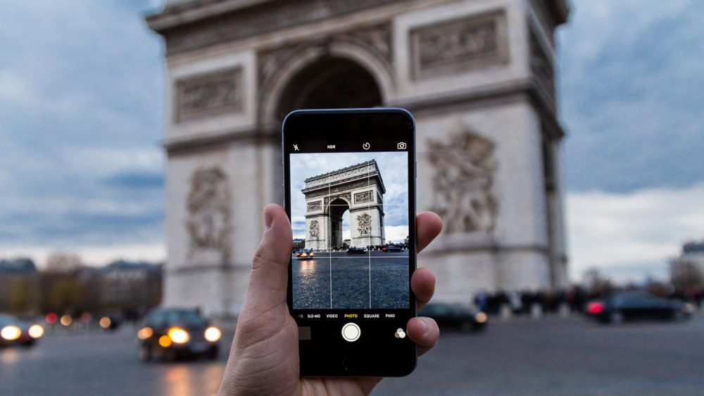Raster bei Handykamera für bessere Fotos nutzen