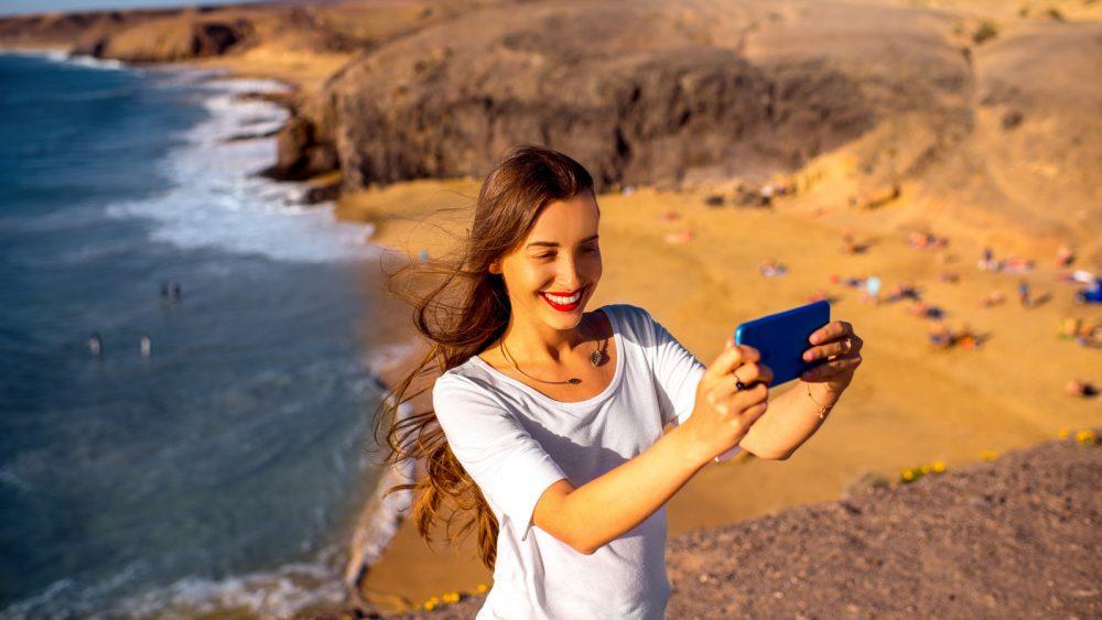 die besten Handy-Fotos gelingen bei Sonnenschein