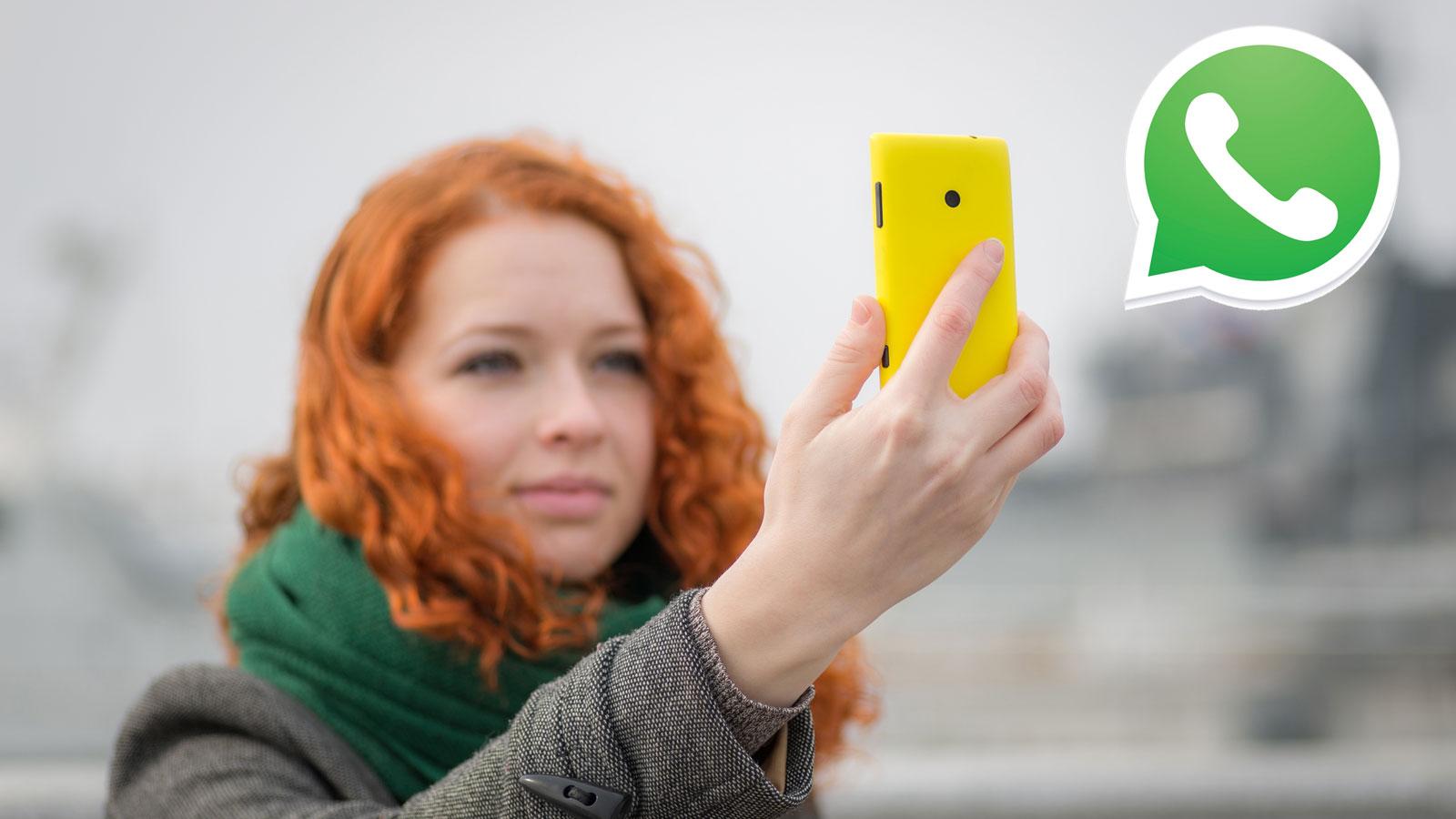 Wer mit WhatsApp chattet, kann jetzt auch Snapchat-Funktionen nutzen.