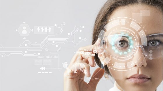 """Augmented-Reality-Brille """"Smart Glasses"""""""