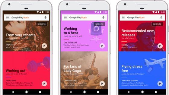 Google Play Musik-Update