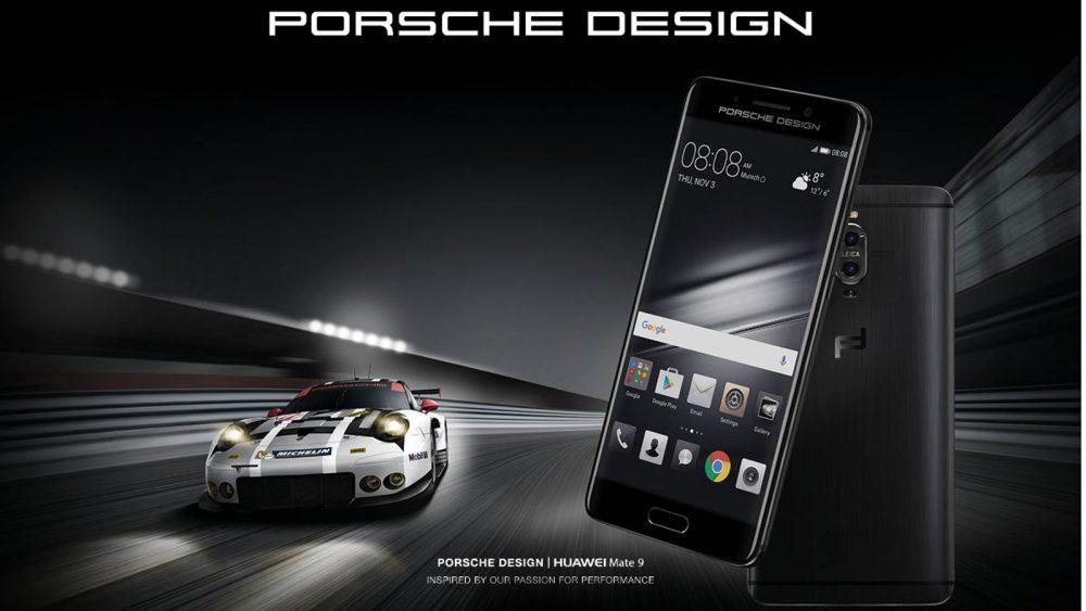 Die Huawei Mate 9 Porsche-Edition.