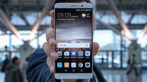 Das Huawei Mate 9.