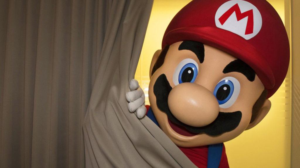 Super Mario als Spiel für die Nintendo Switch.
