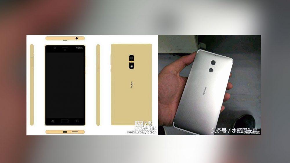 Nokia D1C Smartphone durchgesickert.