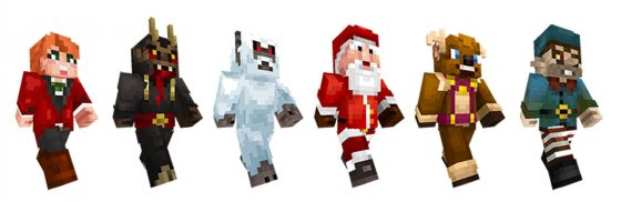 Minecraft Weihnachtsedition