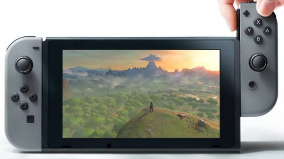 Nintendo Switch Tablet mit Controller