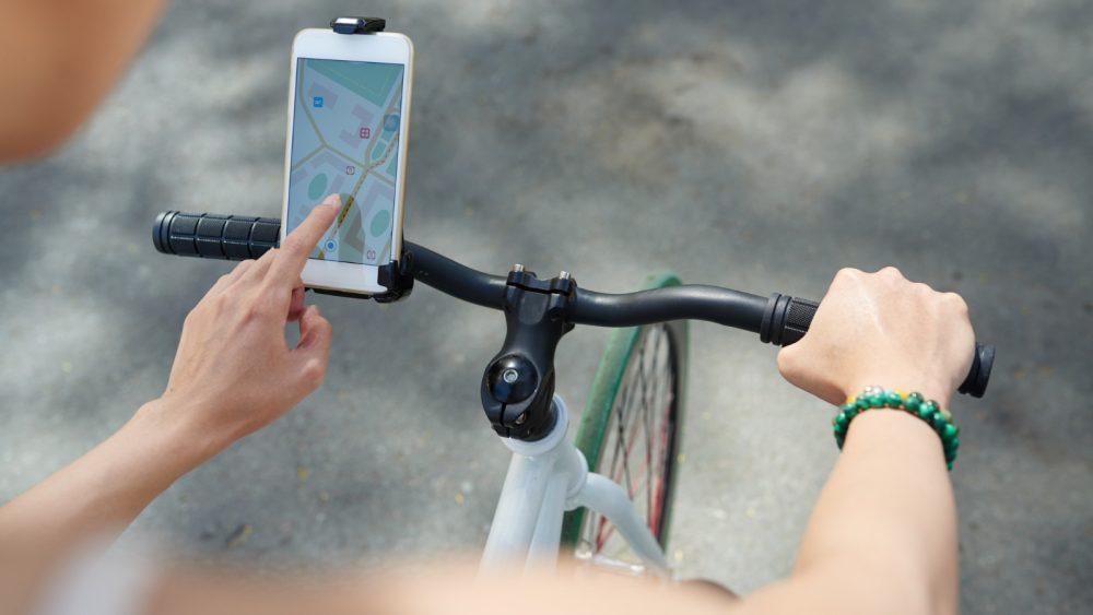 iPhone am Fahrrad für Navigation
