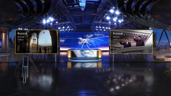 So sieht das Menü der App Jaunt VR bei PlayStation VR aus.