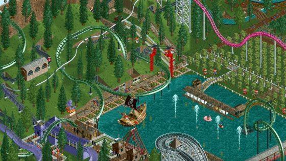 Screenshot RollerCoaster Tycoon Classic