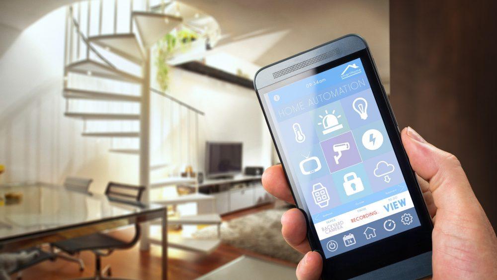 Wohnung wird per Smartphone gesteuert