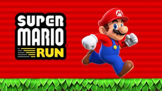 Logo und Grafik Super Mario Run