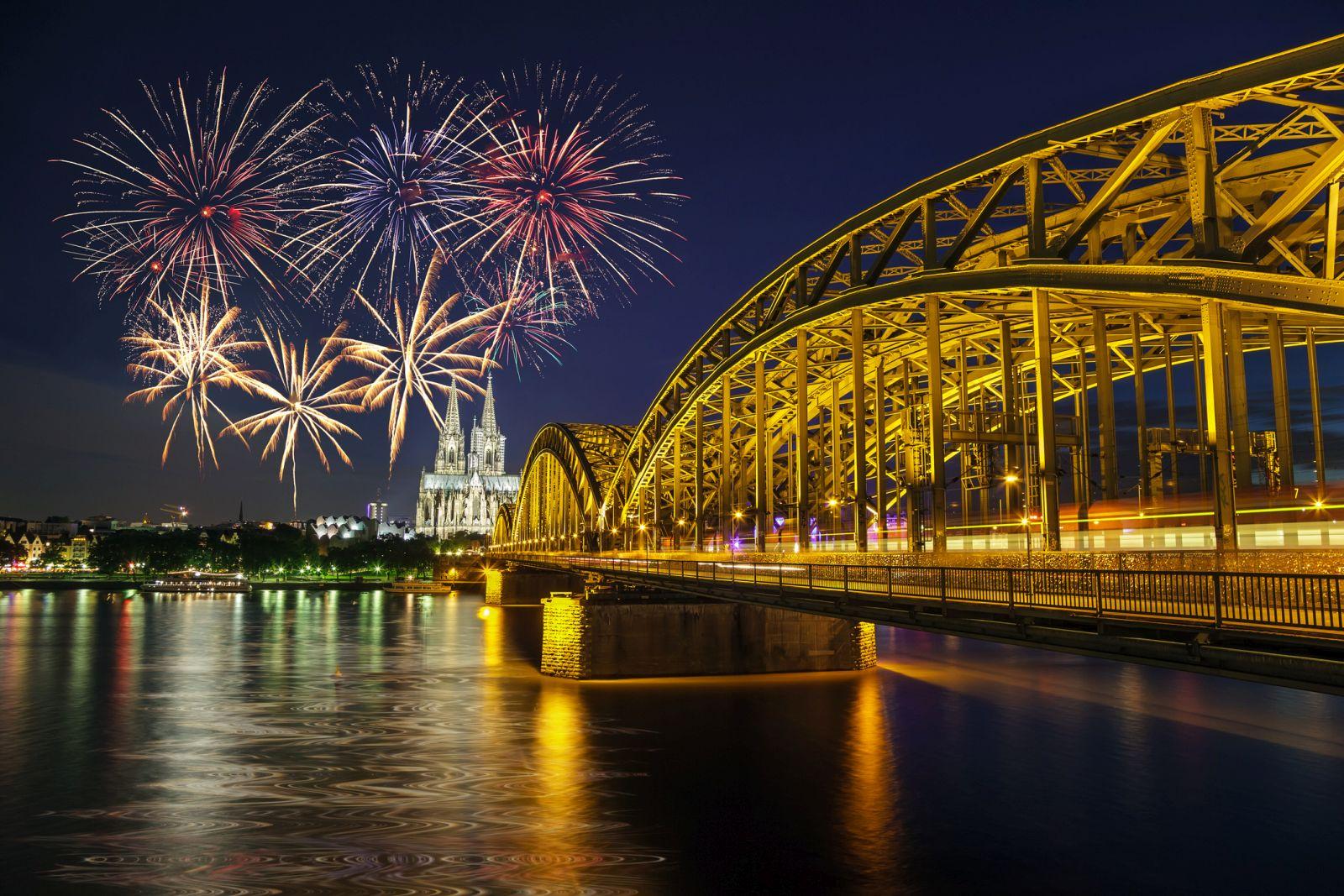 Feuerwerk-Foto-Köln
