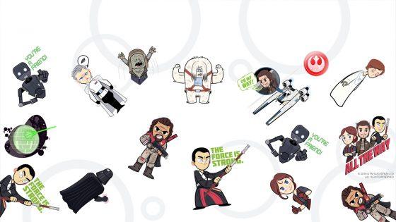 Google Allo Star Wars Sticker