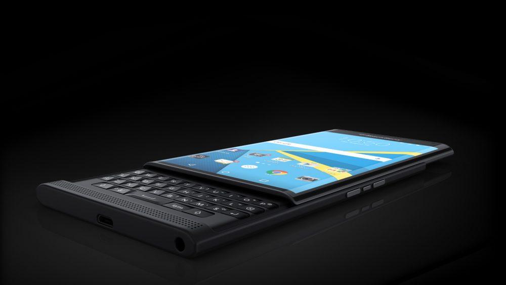 BlackBerry priv mit Tastatur