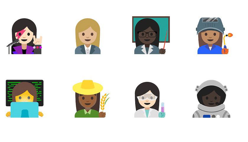 Neue Emojis unter Android 7.1.1 Nougat