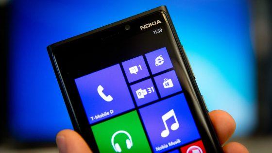Ein Nokia-Smartphone.