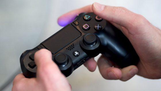 Ein Playstation-4-Controller.