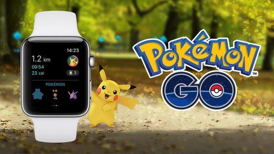 Pokémon GO für die Apple Watch jetzt im App Store verfügbar.