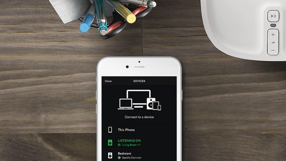Spotify App steuert nun Sonos-Soundsystem
