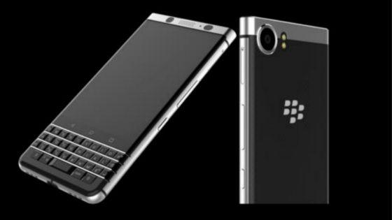 BlackBerry Mercury in der Voder- und Rückansicht