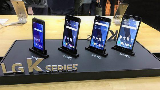 LG stellt seine neue K-Serie für das neue Jahr vor.